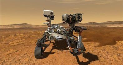 کاوشگر «استقامت» بر سطح مریخ فرود آمد
