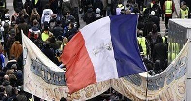 اعتراضات فرانسه علیه قانون بازنشستگی از سر گرفته شد