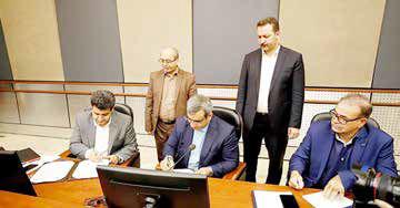 امضای تفاهم نامه همکاری سازمان منطقه آزاد کیش و سازمان ملی کارآفرینی ایران