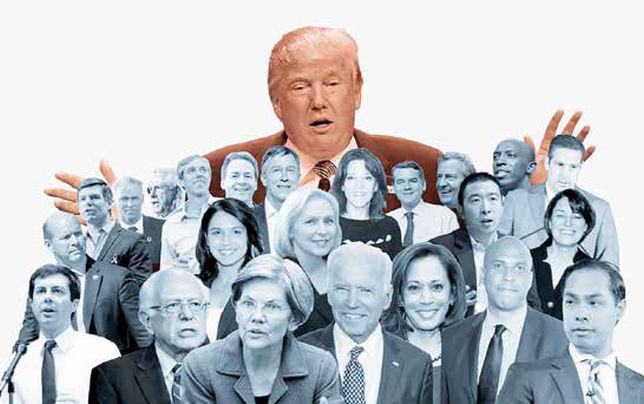 آرایش جنگی علیه ترامپ