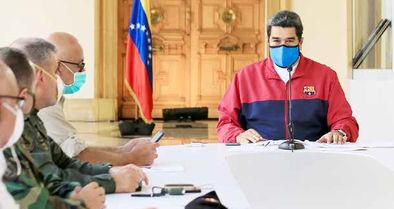 «کرونای سیاسی شده» و «تحریم» علیه مادورو