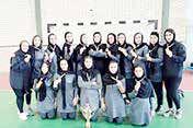 قهرمانی تیم هندبال دختران کیش در مسابقات کشوری