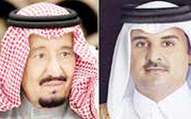 ارسال دعوتنامه عربستان به امیر قطر!