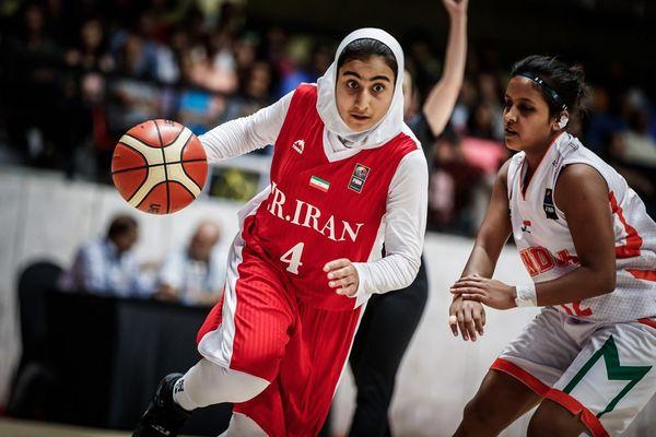 صعود دختران بسکتبال به جام جهانی