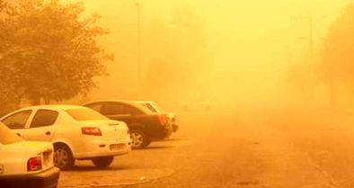 وقوع توفان گردوخاک در تهران و پنج استان دیگر