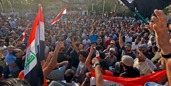 تظاهرات در بغداد با مطالبه برکناری دولت