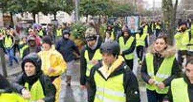 تولوز، مرکز شنبه اعتراضی جلیقهزردها