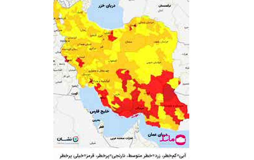 قرمز شدن «تهران» قطعی است