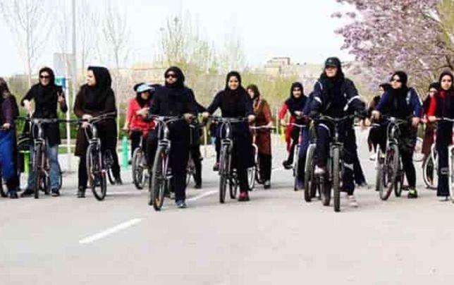تکذیب ممنوعیت دوچرخهسواری زنان در مشهد