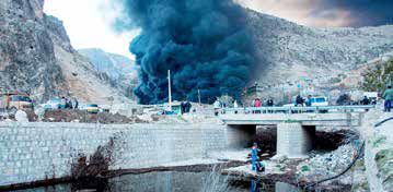 آلودگی نفتی وارد خاک و منابع آبی سرخون شد