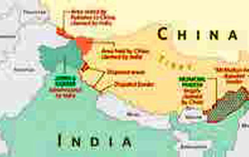 تقویت رزمی نیروهای چین در مرزهای موردمناقشه با هند