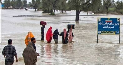 فروکش کردن آب مناطق سیلزده سیستان وبلوچستان